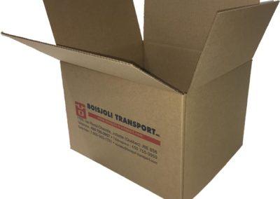 Boîte de  2 pieds cube - Boisjoli Transport à Joliette
